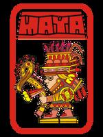 Mayan Warrior by Valnor