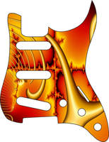 Strat Guitar P0003 by Valnor