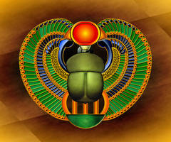 Scarab Amulet by Valnor