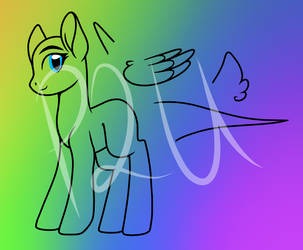 P2U Pony Base by SugarcubeDelights