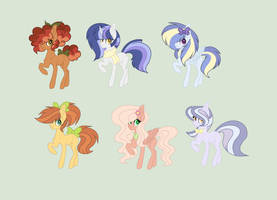 RosyVerse: These older siblings six by RoseLoverOfPastels