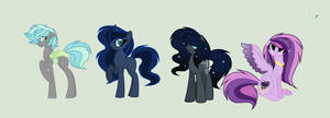 Pipverse: The Royal group by RoseLoverOfPastels