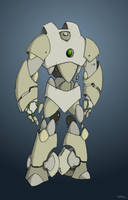 The Golem Colored by Aerorious