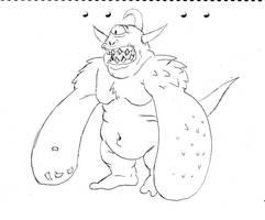Weird monster by ViktorMatiesen