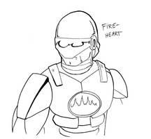 Fire Heart Test Sketch by ViktorMatiesen