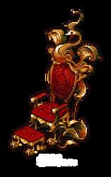 Rococo Phoenix Throne by AshKerins