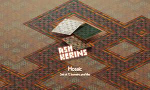 Mosaic Tile Set by AshKerins