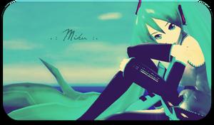 .:MMD:. Hatsune Miku by Shichi-4134