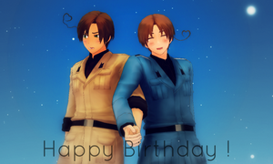 MMDxAPH - Buon compleanno ! by Shichi-4134