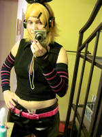 Rin Kagamine Cryonics finished cosplay by Darkelfhunter