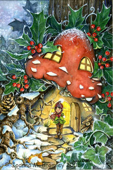 Winter Toadstoole by JoannaBromley