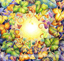 Rainbow Ivy Eye by JoannaBromley