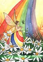 Daisy Rainbow Easter by JoannaBromley