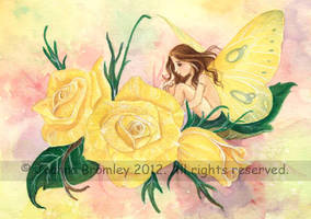 Roses are Yellow by JoannaBromley