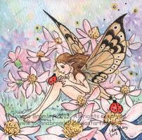 Daisy Pink 2013 by JoannaBromley