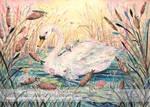 Swan Lake Parade by JoannaBromley