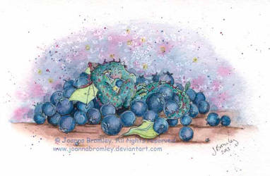 Blueberry Snug by JoannaBromley