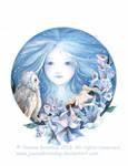 Moon Goddess by JoannaBromley