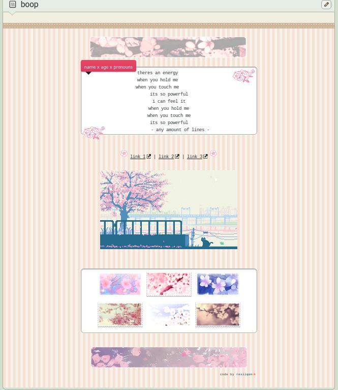 .cherry blossoms . ftu by kouiri