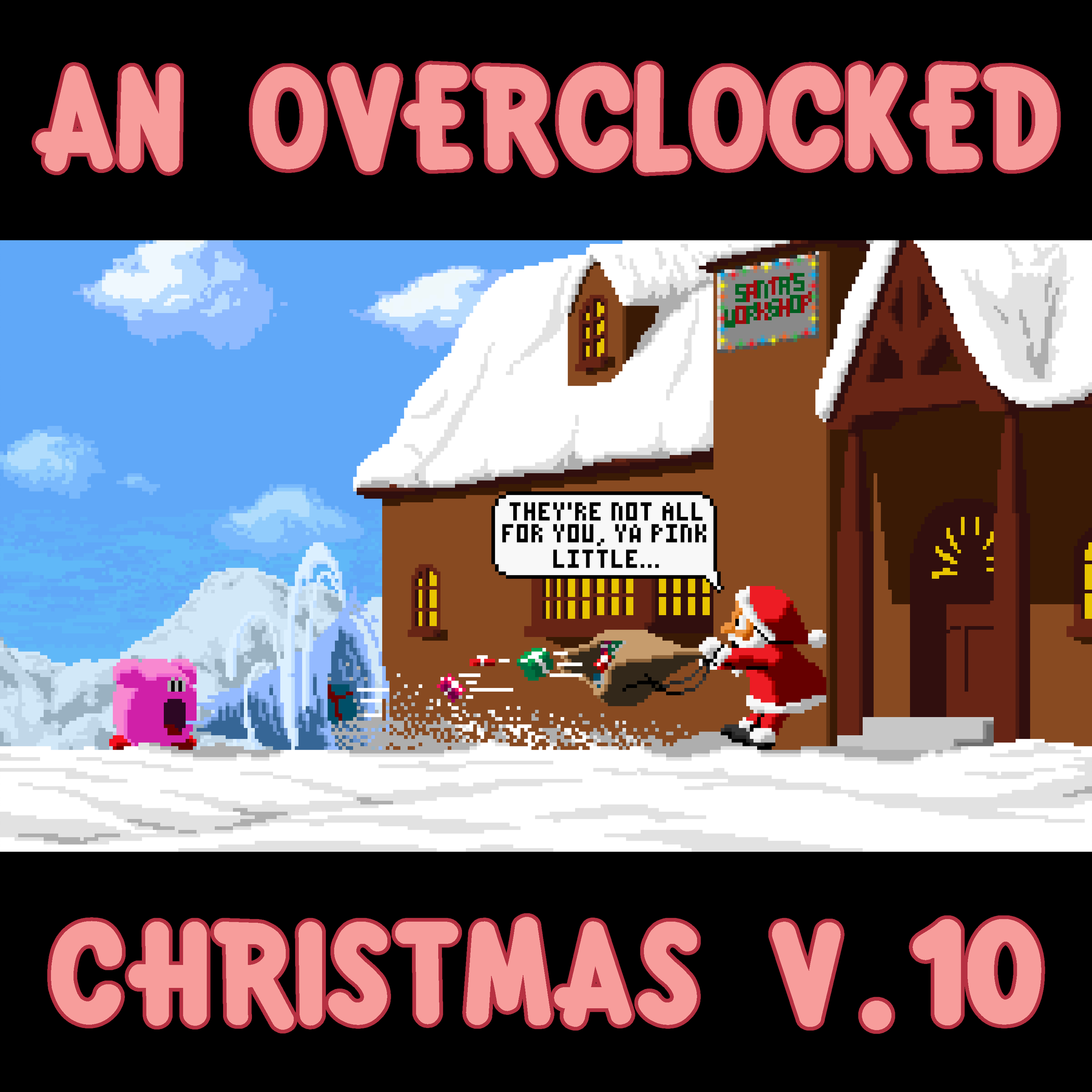 An OverClocked Christmas v.10 cover by The-Coop