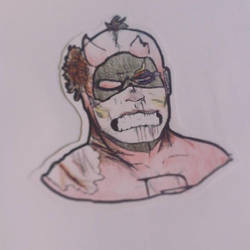 Daredevil Man Without Fear by alexgamerLOOL