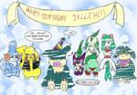 Happy Birthday Jelleh - 2011 by Vye-Brante