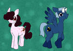 Semi Sweet and Fifty-Fifty by Vye-Brante