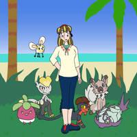 Pokemon Sun Team by Vye-Brante