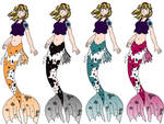 KH Vye Mermaid Alts by Vye-Brante