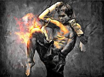 Thai Boxing by phraisohn