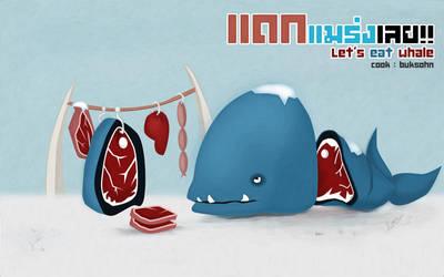Eat Whale by phraisohn