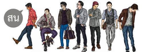 Characters by phraisohn