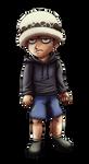 Law - the grumpy child by JeMiChi