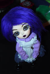 Anel's face up by Kitsunefurryfox