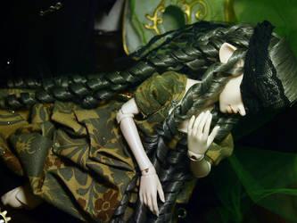 blind maiden by Kitsunefurryfox