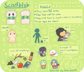 Scarfblob by Smushey