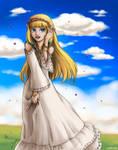 TLoZ:SS - Spring Air by yueki
