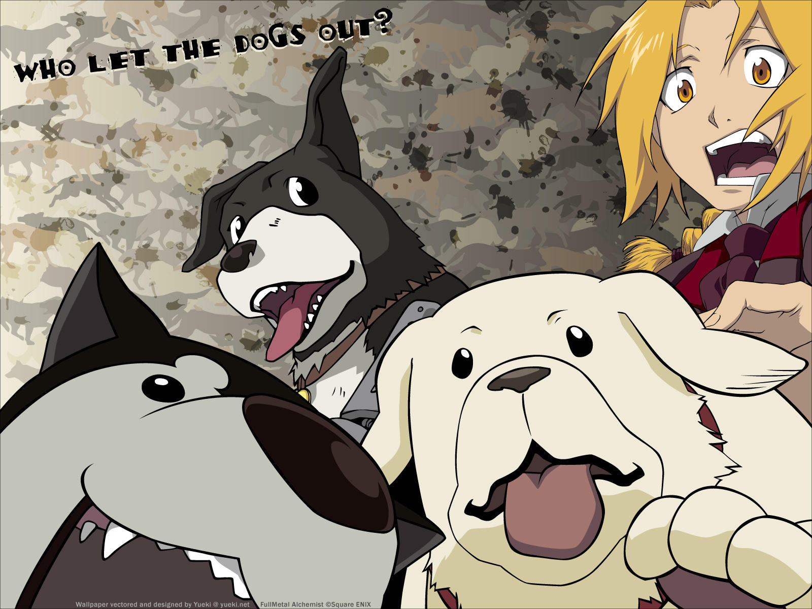Who Let The Dogs Out? by yueki