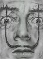 Salvador Dali by felixdasilva