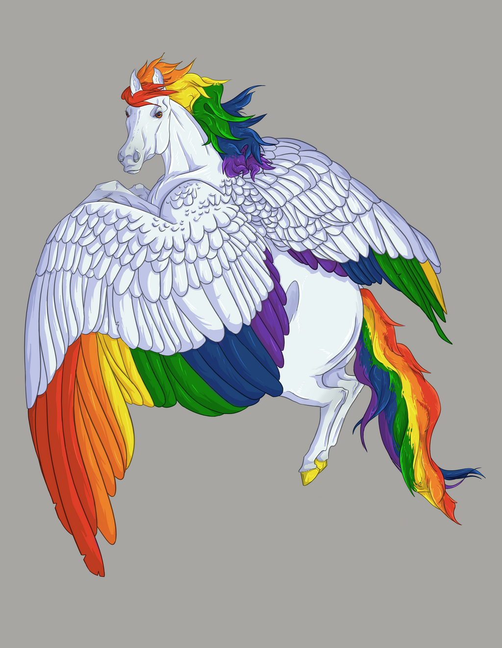 Caught Chasing the Rainbow by Blusl