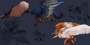 Doodle Dump 2-14-15 by Blusl