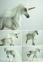 OOAK Unicorn Foal by SovaeArt
