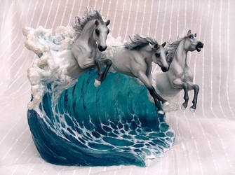 Sea Foam - Breyerfest Finalist 2017 by SovaeArt