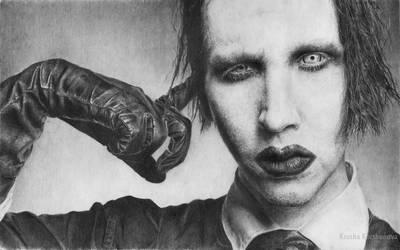 Marilyn Manson by korshunovak