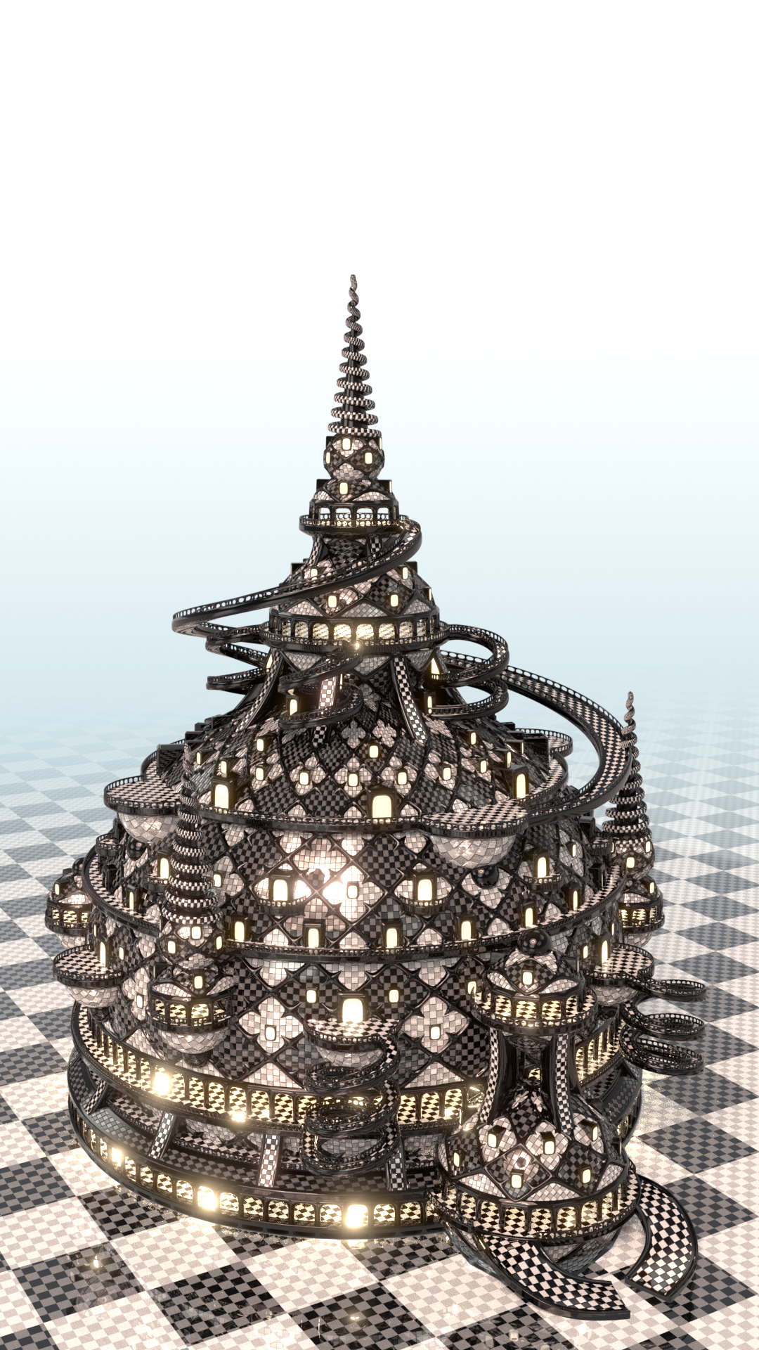 Dystopian Tower - (Contest) by Etrelley