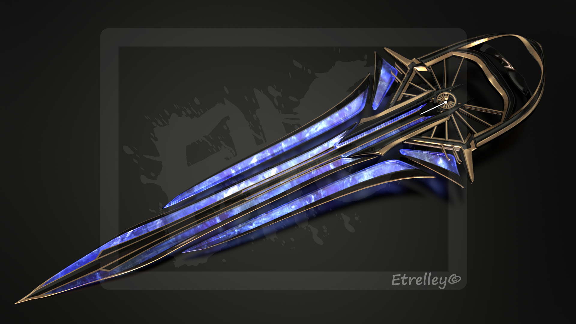 Radione energy sword - OC by Etrelley