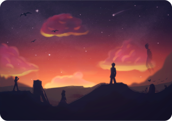 Tranquil Desolation by Krysidian
