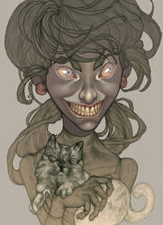 witch - colouring practice by labirynt