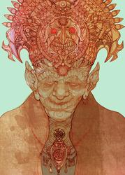 The Golden Parasite by labirynt