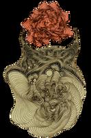 organic necklace by labirynt